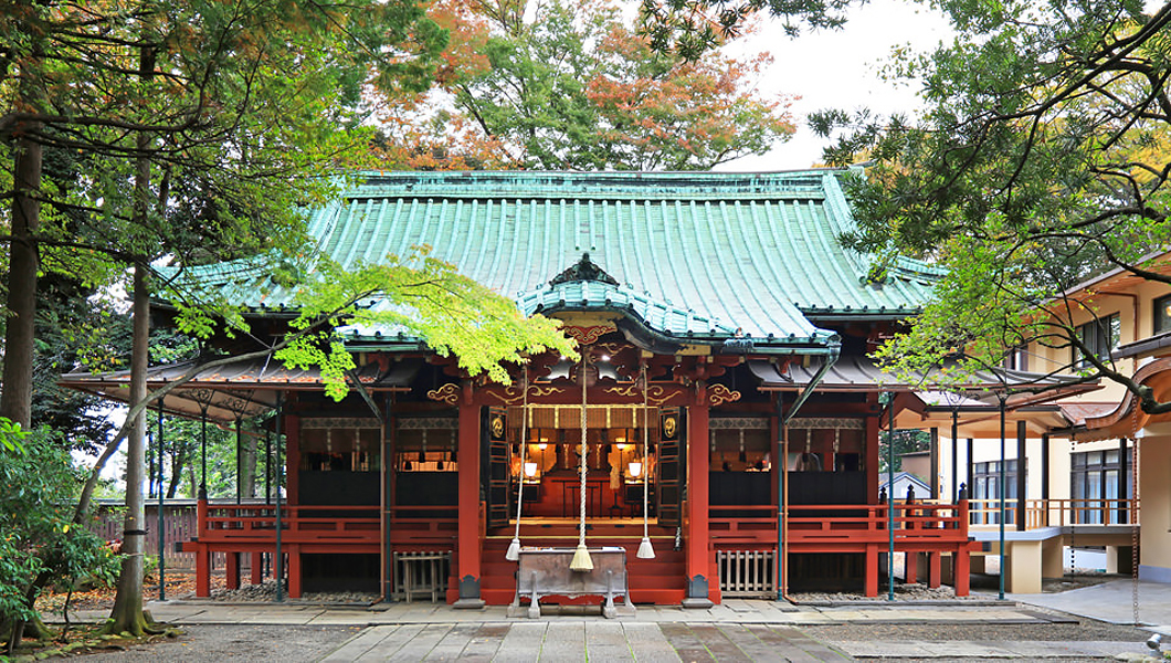 「赤坂氷川神社(東京都港区赤坂6-10-12)」の画像検索結果